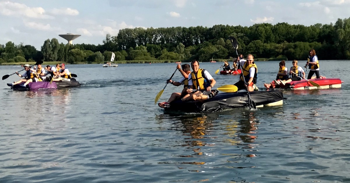 Course nautique saint quentin en yvelines team building for Activite yvelines